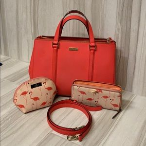 Kate Spade Cameron St handbag incl accessories